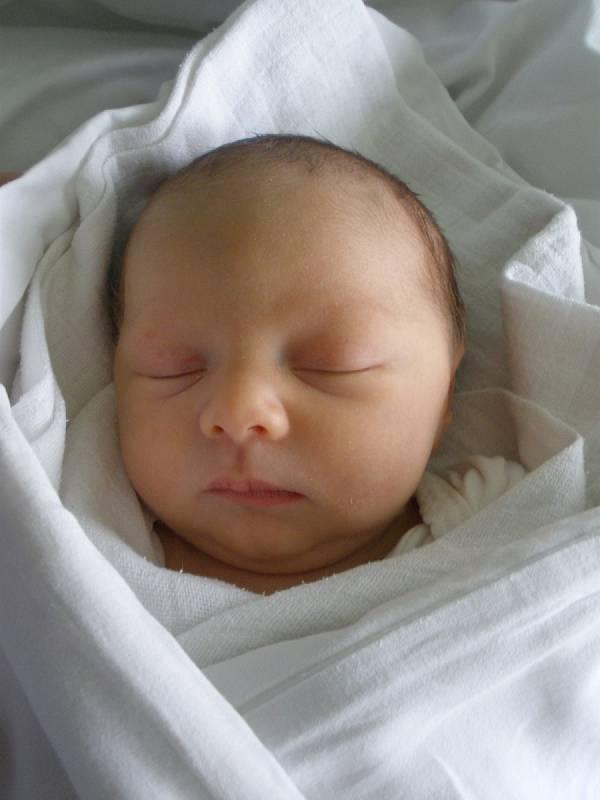 Nela Bártová, 3, 43 kg, Lysice, 11. 12. 2013