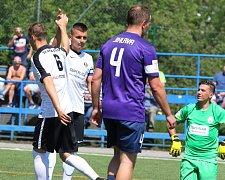 Blanensko zlomilo Jihlavu třemi góly za dvě minuty a na lídra ztrácí bod