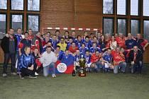 Fotbalisté Sadrosu Boskovice získali titul mistrů republiky v malé kopané.