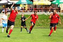 Boskovičtí fotbalisté (červená) porazili na domácím hřišti Bohunice.