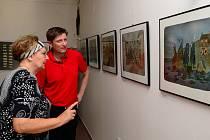 Výstava výtvarníků v letovické Galerii PEX.