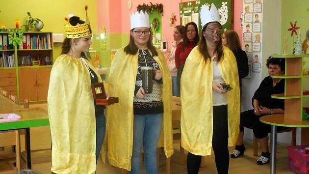 Školní družinu navštívili Tři králové.