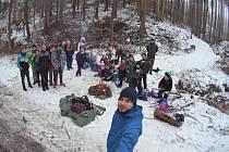 Ještě loni mohli šebrovští skauti vyrážet na společné zimní výpravy.