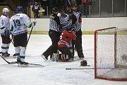 Hokejisté Boskovic porazili Blansko i ve druhém zápase a postupují do semifinále play-off krajské ligy.