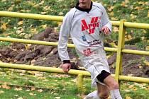 Záložník David Bednář z FK Apos Blansko.