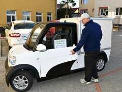Boskovická radnice si pořídila elektromobil.
