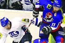 Hokejisté Blanska opět prohráli o jednu branku. Podruhé za sebou. Tentokrát na ledě Nového Jičína.  Hostům nestačilo ani dvoubrankové vedení.