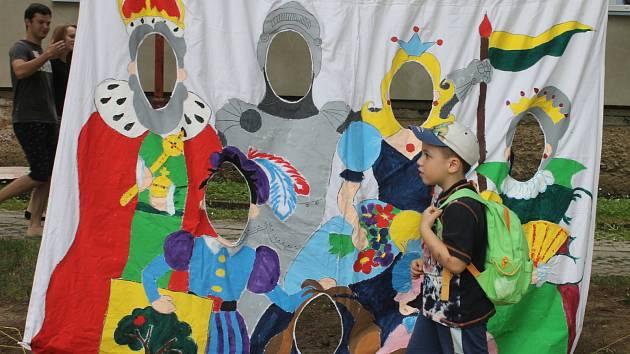 Svůj svátek v Blansku slavily děti i jejich otcové.