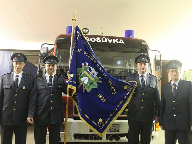 Sbor dobrovolných hasičů v Šošůvce.