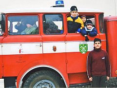 Sbor dobrovolných hasičů z Olomučan.