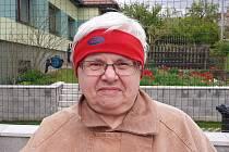 Františka Maňoušková, 74 let, v důchodu.