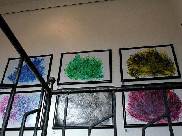 Galerie ve Věži láká na obrazy Matěje Mrázka.