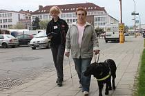 Soutěž pro nevidomé a vodicí psy z celé republiky se v Blansku konala už pojedenácté.