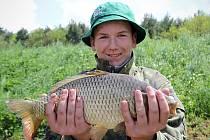 Závody na rybníku Hlavatka v Brankovicích bavily dětské i dospělé rybáře.