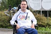 Kamil Vašíček z Blanska si splnil sen. Odletěl na paralympiádu.