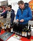Košt svatomartinských vín si užili lidé 17. listopadu v blízkosti Skalního mlýna na Blanensku.