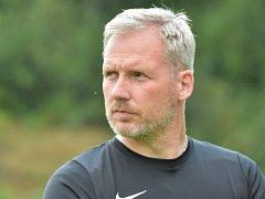 První trénink na novou sezonu absolvovali fotbalisté FK Blansko v Lažánkách a pod vedením nového trenéra Tomáše Koloucha.