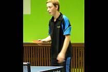 Stolní tenista TJ ČKD Blansko Libor Kutil vybojoval ve čtyřhře druhé místo na mistrovství republiky.