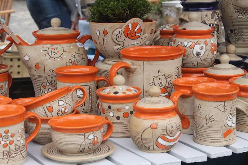 Hrnčířství má v Kunštátu velkou tradici, jarmark tady pořádají už po devětadvacáté.