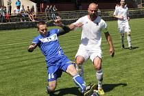 Fotbalisté Lipovce porazili v zápase i. A třídy skupiny A Žebětín 5:3.