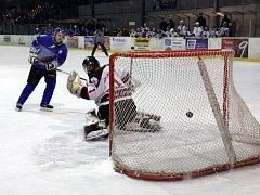Boskovičtí hokejisté prohráli s Blanskem po nájezdech první čtvrtfinálový zápas play-off krajské ligy.