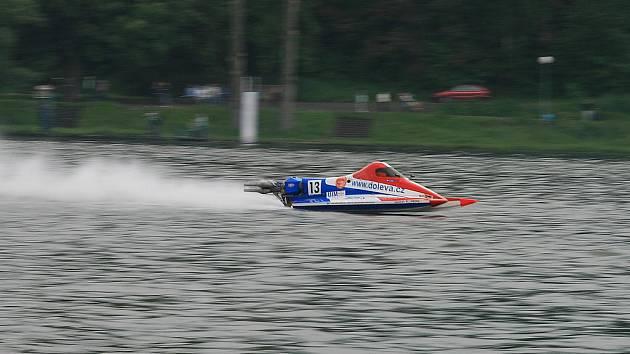 Mezinárodní závody motorových člunů, Jedovnice
