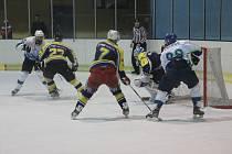 Hokejisté Blanska prohráli třetí zápas play-off s Velkou Bíteší v prodloužení a skončila jim sezona.
