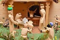 Výstava betlémů v letovické galerii Domino potrvá do sedmnáctého ledna.