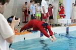 Závod Blanenská dvěstěpadesátka se skládá z pěti na sebe navazujících padesátimetrových plaveckých disciplín. Mají simulovat skutečný zásah při záchraně tonoucího.