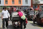 Na sedmnáctý boskovický sraz velorexů přijely zhruba dvě stovky nadšenců.