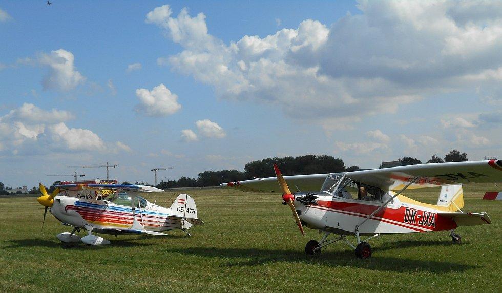 Ultralehká letadla.