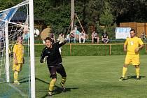 Fotbalisté Kunštátu porazili doma Vojkovice 3:1.