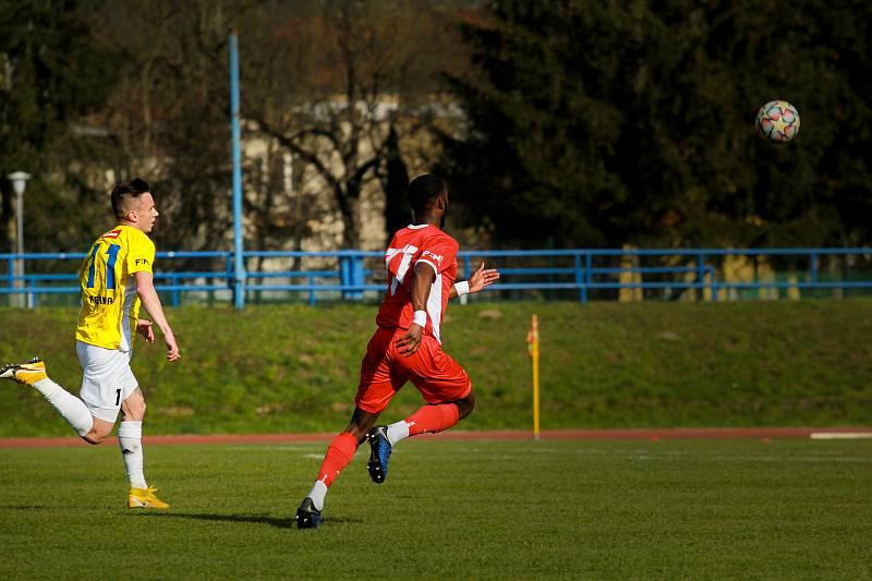 Blanenští fotbalisté prohráli ve 20. kole FORTUNA:NÁRODNÍ LIGY na domácím hřišti s Jihlavou 1:3.