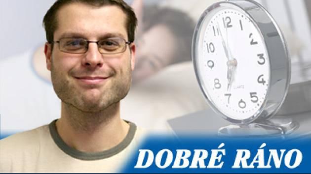 Redaktor Blanenského Deníku Jan Charvát
