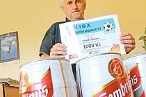 Jarní Tipligu Blanenského deníku vyhrál Rudolf Šebela z Blanska.