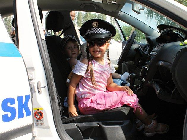 Den s policií v Blansku.