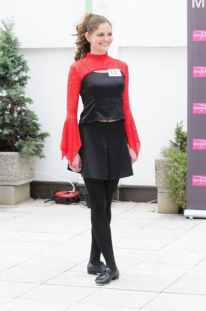 Michaela Šejnohová okouzlila všechny přítomné svým naprosto dokonalým stepovým vystoupením.