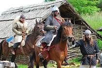 Keltská bitva v usedlosti Isarno u Letovic.
