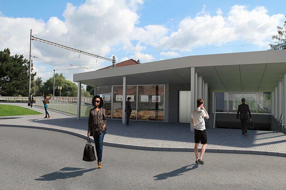 Blanenští už vyhlížejí nový most. A také podchod pod tratí.