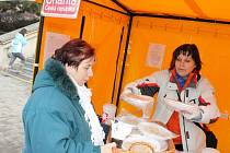 Pracovníci Oblastní charity Blansko připravili akci s názvem Hromniční zima.