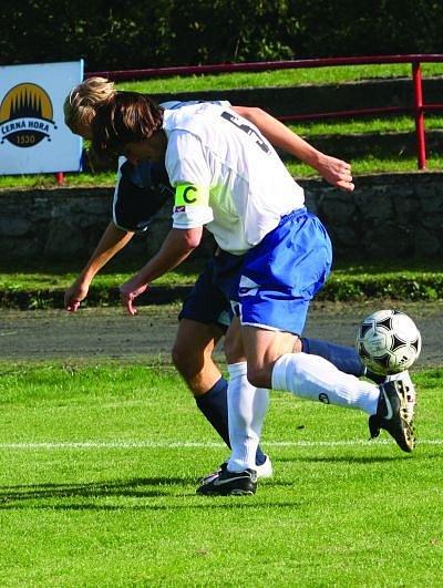 BITVA BEZ VÍTĚZE. Hulín hrál v Boskovicíchbez branek.