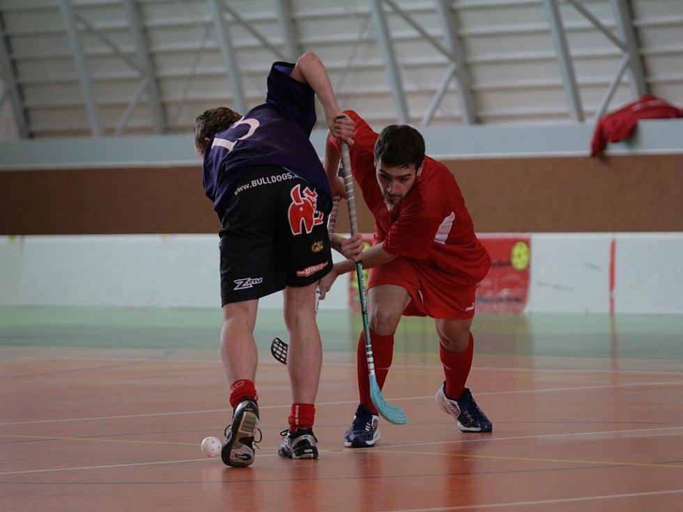 V jedovnické sportovní hale se utkaly nejlepší florbalové týmy středních škol z celého Jihomoravského kraje.