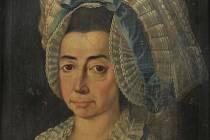 Obraz Vilemíny Imbsenové, nejmladší ze tří dcer majitele kunštátského panství v osmnáctém století Jana Teodora Imbsena, se brzy vrátí zpět do kunštátského zámku.