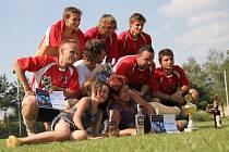 Futsalový turnaj na trávě Carpe Diem Cup vyhrál tým FPO Blansko.