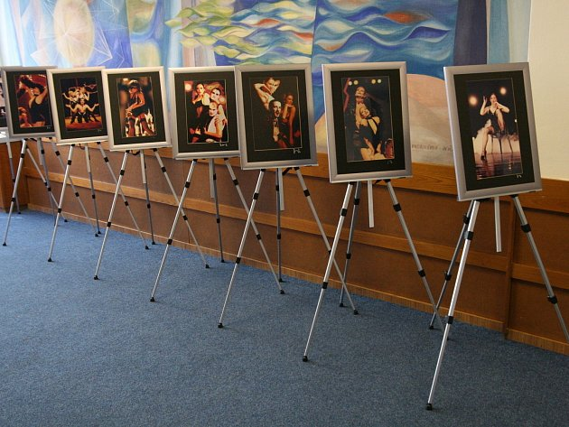 Výstava fotografií Jefa Kratochvila v Adamově.