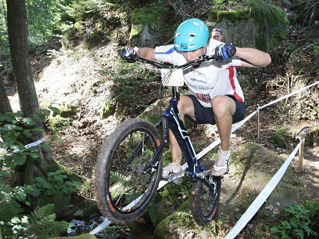 Mistrovství světa biketrial 2016 v Blansku. Na snímku Martin Kakáč.