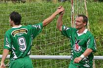 Fotbalisté Rájce-Jestřebí odstartovali v krajském přeboru na výbornou. Tým kouče Záleského si v neděli na domácím trávníku poradil s matně hrajícími Ratíškovicemi a vyhrál v prvním zápase sezony 2:0.