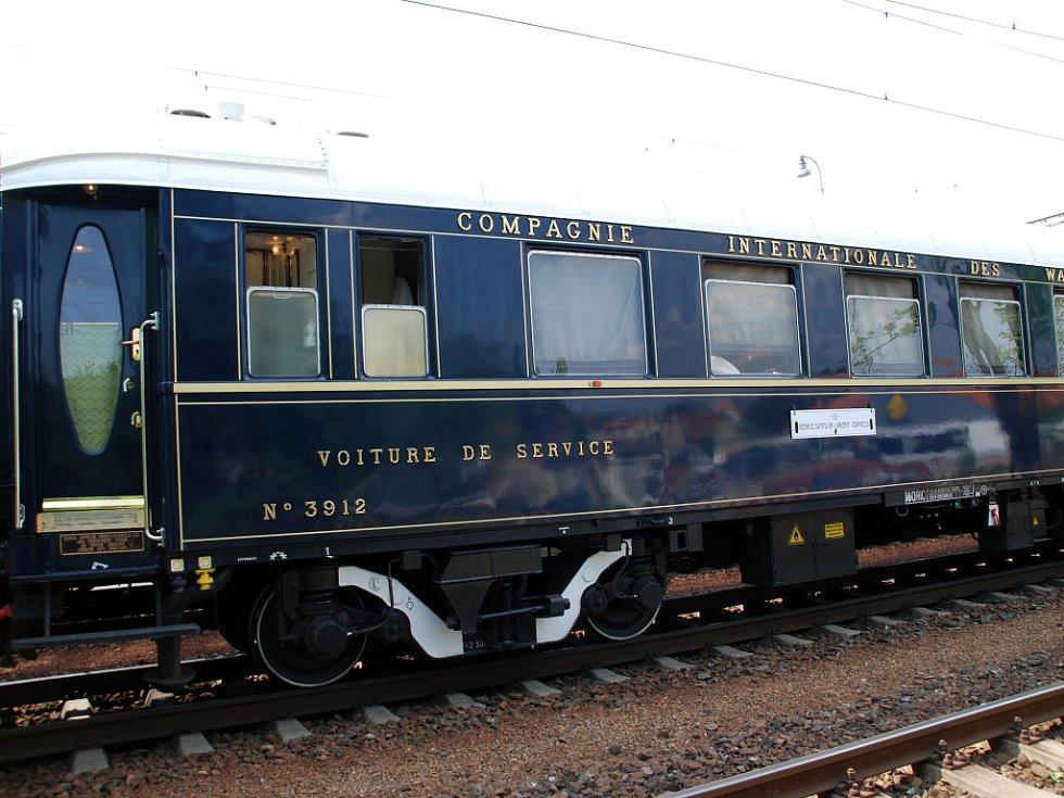 Blanskem projel Orient Express