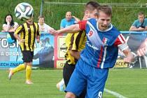 Fotbalisté Blanska poprvé prohráli. Hodonín je rozstřílel 5:0.