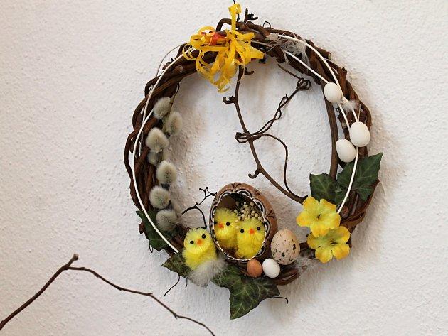 Velikonoční výstava s ukázkami řemesel v Galerii města Blanska.